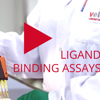 Video showing VelaLab's laboratory for ligand binding assays